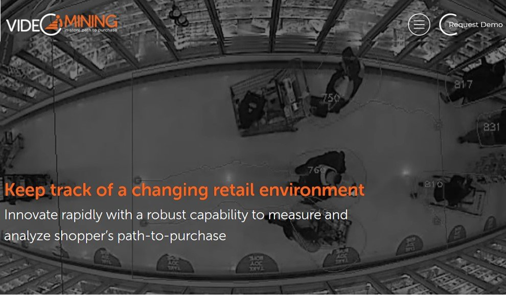 """Physical Retail is Still Alive – VideoMining's New Website Brings Focus to """"In-store"""" Shopper Analytics"""