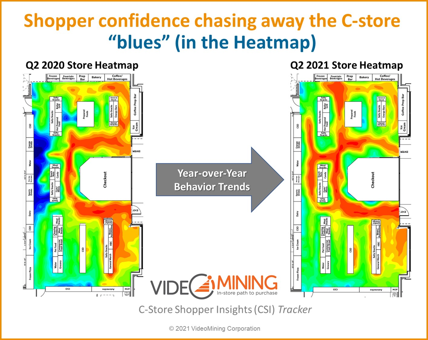 Heatmap trend points to increased shopper confidence