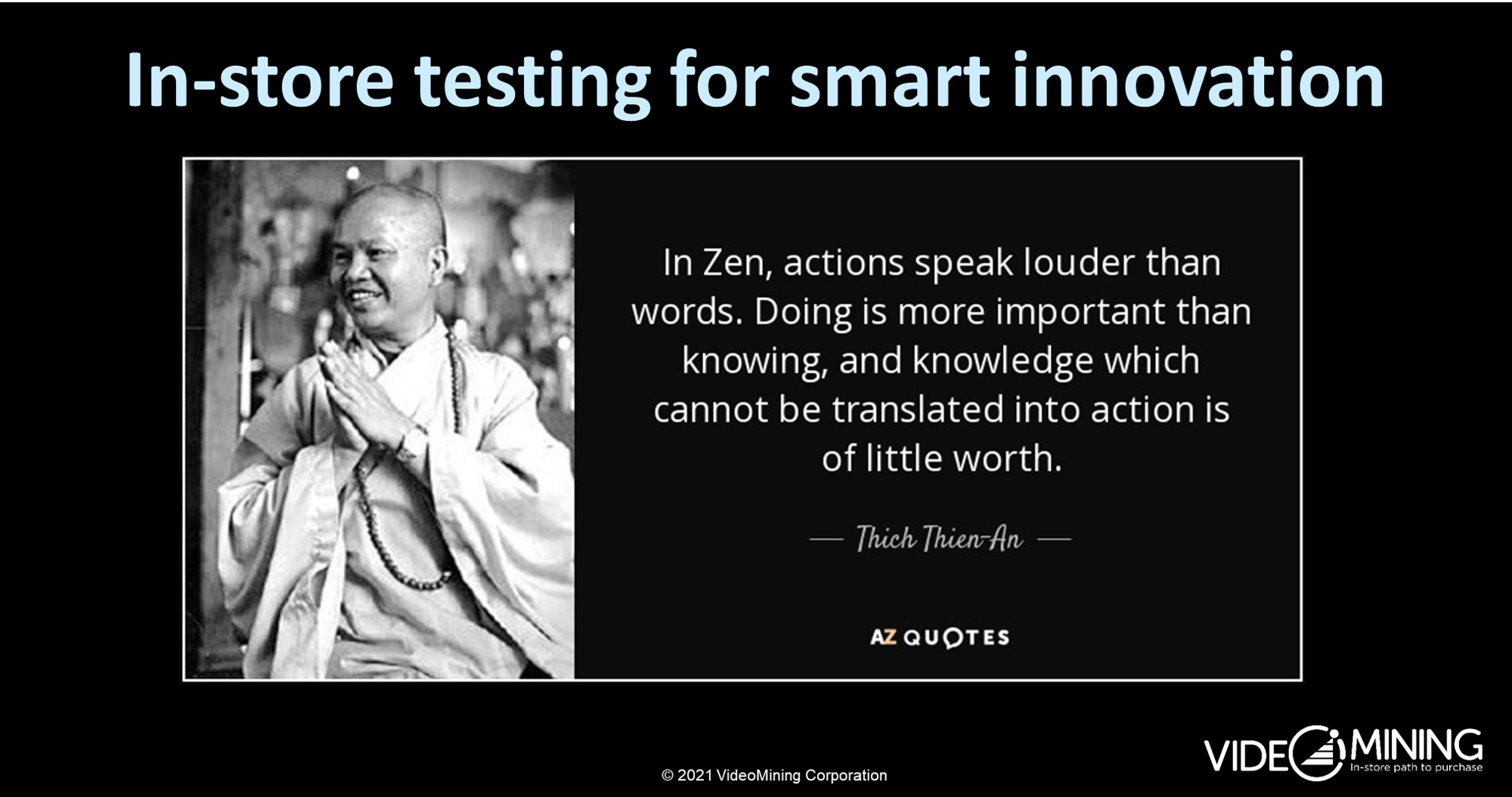 In-Store Testing for Smart Innovation